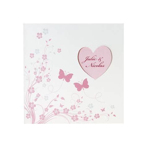 Hochzeitseinladung Schmetterling by Hochzeitseinladung Quot Quot Einladungskarte Mit