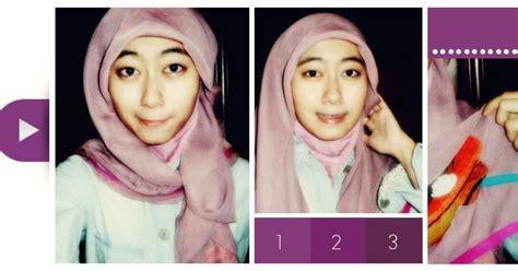 Cara Jilbab Modern cara memakai jilbab modern praktis cara memakai