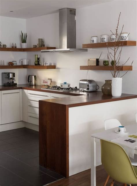The Whole Kitchen by Picture Of Warm Colored Wood Countertop Ties Up The Whole Kitchen Decor
