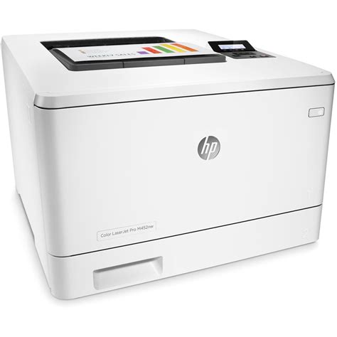 hp color laserjet pro m452nw laser printer cf388a b h photo