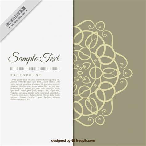 wedding invitation ornaments vector wedding invitation with decorative ornaments vector free