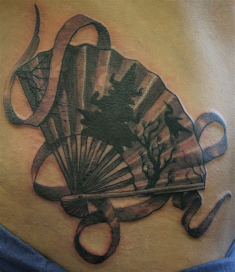 japanese fan tattoo designs japanese fan by rix tattoonow