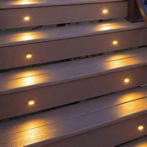 step lighting fixtures led stair light charcoal black 4 pack