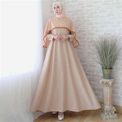 Batik Gamis Sofia gamis lebaran cape brokat terbaru sofia coksu model baju