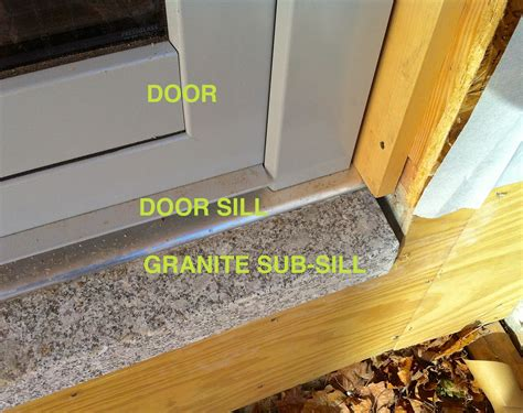 Accessible Door Sill Detail 363 House Door Sills Exterior Door
