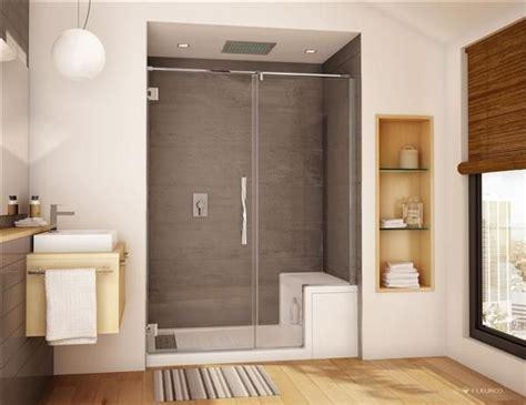 acrylic shower bench 86 best images about master bath makeover on pinterest pedestal sink shower doors