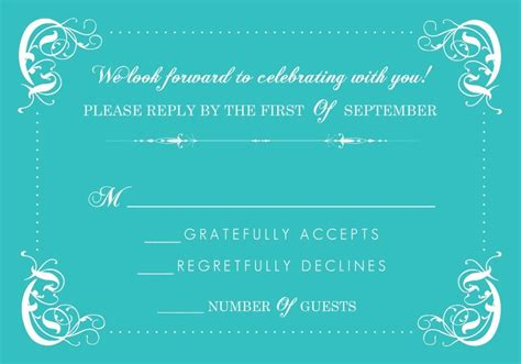 Wedding Rsvp Congratulations by Wedding Rsvp Wording Formal And Casual Wording You Will