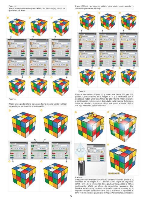 tutorial cubo rubik paso a paso 191 c 243 mo crear un cubo de rubik en illustrator