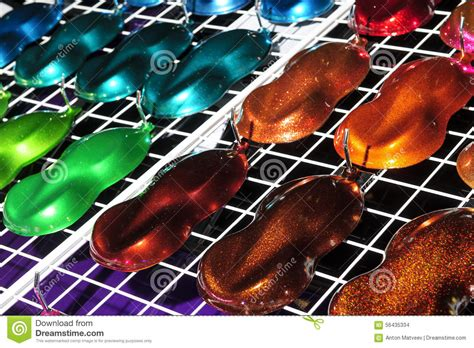paint for car paint sles stock photo image 56435334