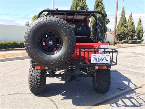 Restoration Ls by One Of A Chevy 6 0 Ls Powered Fj40 Restoration New