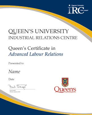 Bc Certificate Records Certificates In Labour Relations S Irc