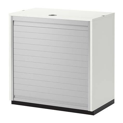 Roll Front Cabinet Doors Galant Roll Front Cabinet White Ikea