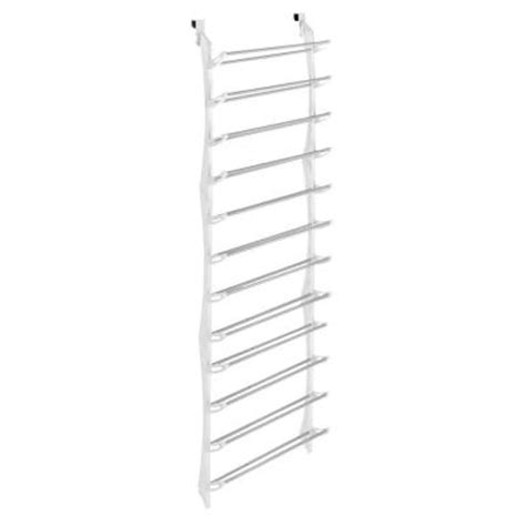 Home Depot Shoe Rack by Whitmor Shoe Rack Collection 22 63 In X 74 50 In 36 Pair