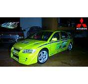 Brian OConnor Paul Walker 2002 Mitsubishi Lancer Evo