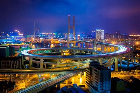 nanpu bridge in china amusing planet