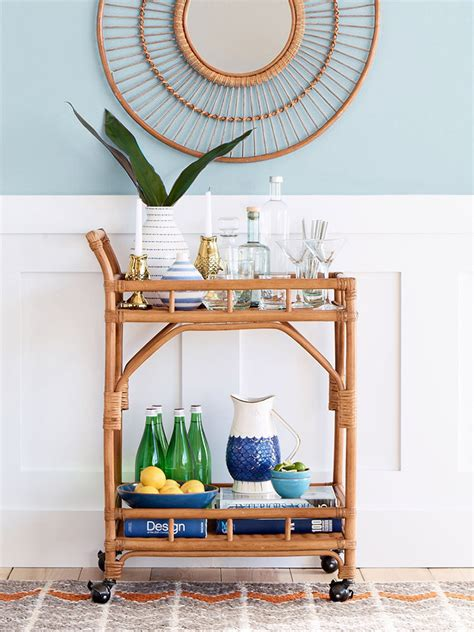 Wicker Room Divider - june moodboard room for tuesday