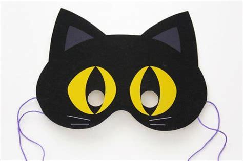 printable eye mask for halloween 8 best images of cat eye mask printable cat face mask