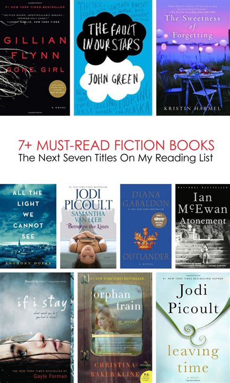 7 Must Read Books For by The Next 7 Must Read Fiction Books On My List Lasso The Moon