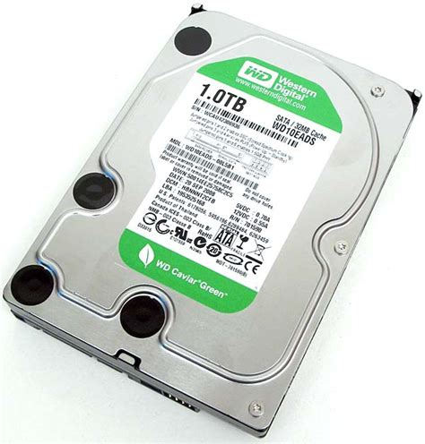 Harddisk Wd 500gb Green western digital s caviar green drive the tech report page 1