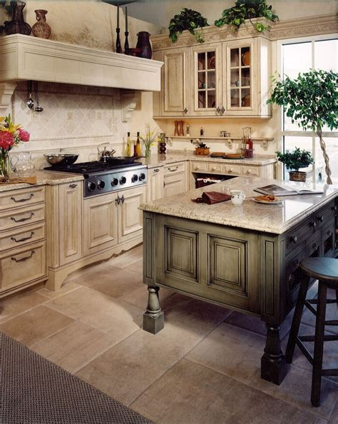 made tuscany kitchen remodel by cabinets design