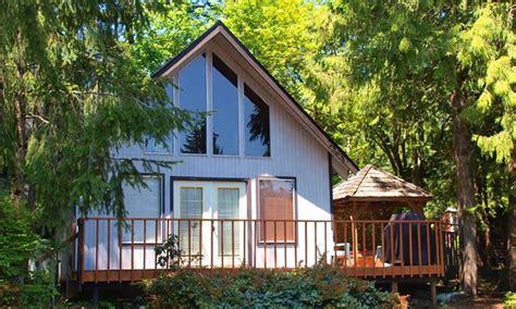 Robin Cottages Union Wa cottages on olympic peninsula groupon