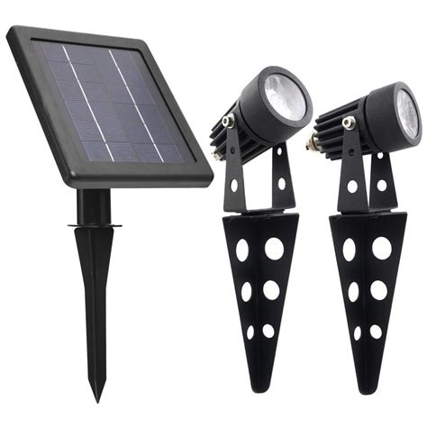 Led Solar Outdoor Lights Spotlight Warm Mini 50x Solar Led L Outdoor Landscape Solar Spot Light Set Dimmer In