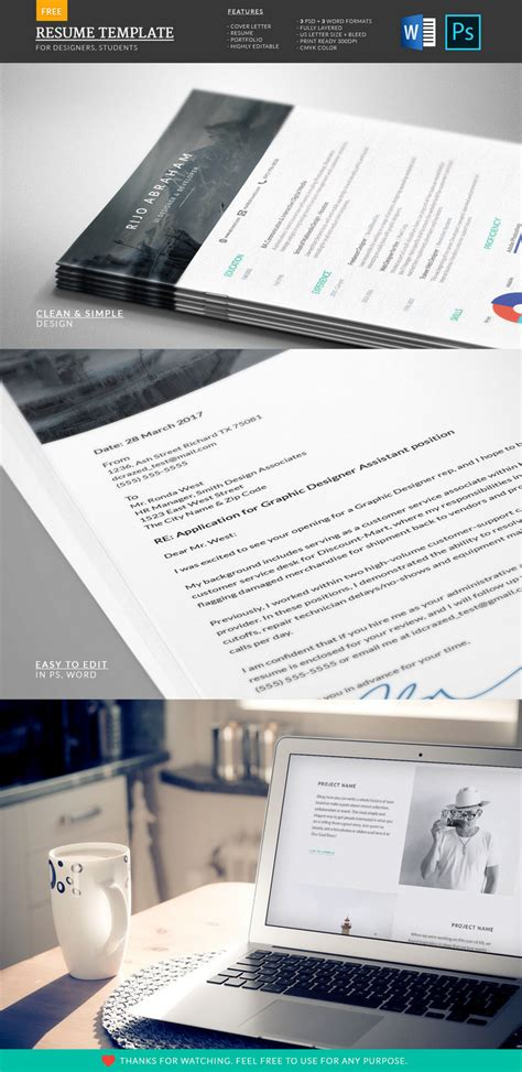 Creative Resume Templates Docx Free 30 Best Free Resume Templates In Psd Ai Word Docx