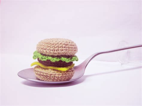 amigurumi hamburger pattern free download mini burger amigurumi pattern amigurumipatterns net