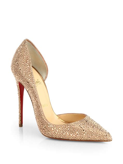 Shoes Christian Louboutin Luxury Gold Po20 christian louboutin gold heels christian louboutin mens shoes for cheap