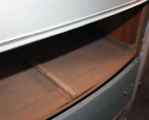 How To Fix A Drawer by Simple Fix For Worn Dresser Drawer Rail Make Drawers