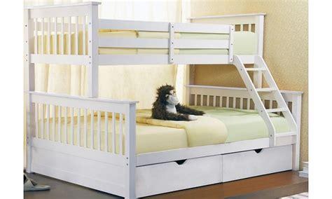 Wooden Sleeper Bunk Beds by Joseph International Joseph Sonya Three Sleeper Wooden