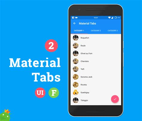 android layout template download android ultimate ui features template materialup