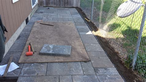 Patio Pavers Installation Portland Landscaping Paver Patio Installation