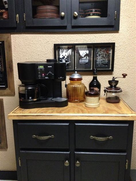 beautiful home coffee bar ideas on buffet found at a