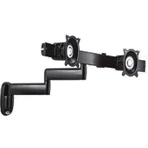 dual swing arm wall mount chief kwd 220b dual horizontal monitor swing arm wall kwd220b