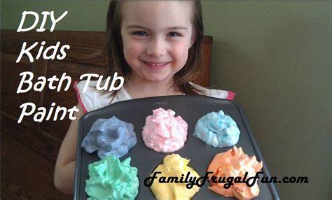 bathtub paint kids diy bath tub paint how to make kids bath tub paint
