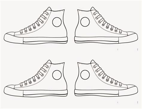 free coloring pages of shoes for pete the cat