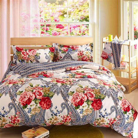 modern bed sheets silver bedding sets floral comforter sets cheap bed linen
