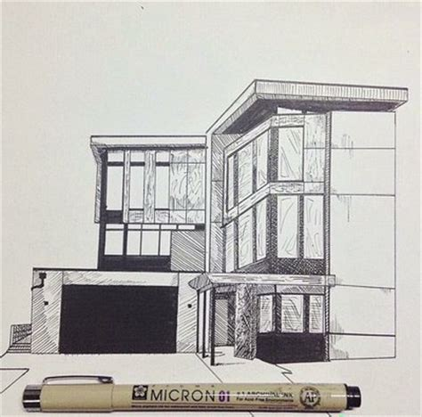 house drawing for colouring modern house perepective drawing challenge 1 modern house by