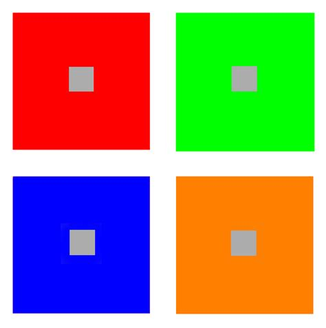 contrast color for grey color circle complementary colors and their contrast