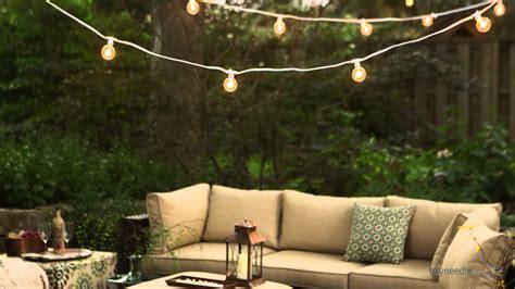 outdoor incandescent string lights bulbrite outdoor string light with incandescent bulbs