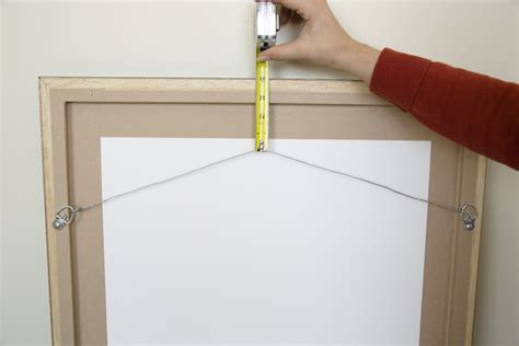 hanging a picture framing wire l doylestown bucks county pa