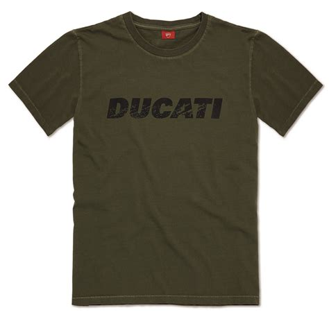 Ducati Motorrad Vintage by Ducati Vintage Logo Herren Motorrad Rundhals T Shirt Neuheit