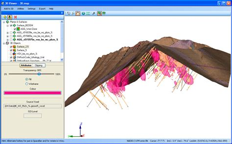 arcgis tutorial for mining geological software geology software geosoft solutions