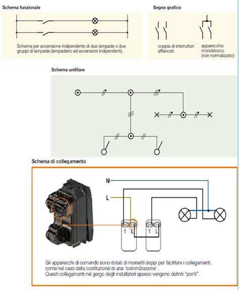 accensione di una lada da tre punti come collegare due lade e due interruttori come
