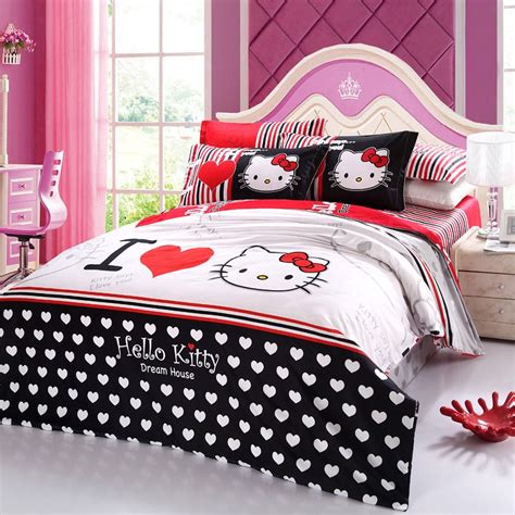 hello kitty bed sets hello kitty bedroom set queen get hello kitty queen