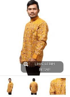 Baju Batik Kemeja Batik Lengan Panjang Pola Guci model baju kemeja batik pria paling laris 2016 grosir
