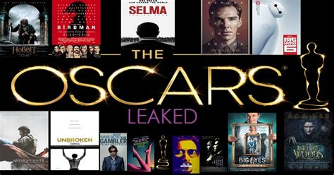 oscar film of the year 2015 thirteen oscar movies leaked dvd screeners versions hit