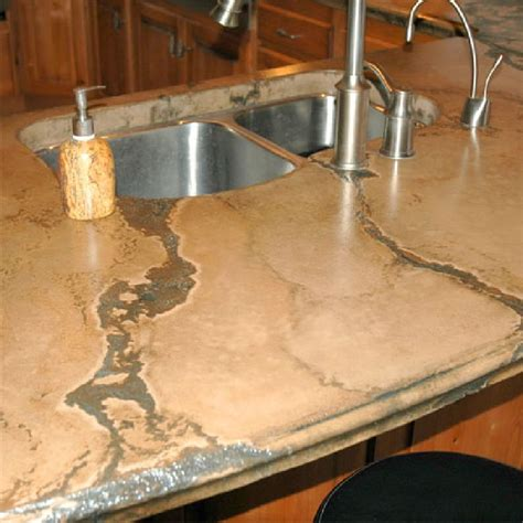 cement countertops bowman concrete inc services concrete countertops