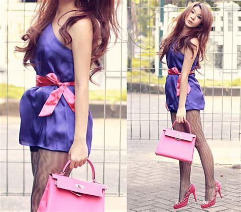 Dress Pink Merk Bodysoul siantar soul mini dress silk market tights studded shoes herm 235 s